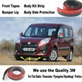 Car Bumper Lips For Fiat Doblo / Panorama / Pyongwha Ppeokkugi / Pratico / Body Kit / Front Tapes / Body Chassis Side Protection
