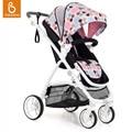 Sistema de viaje cochecito de bebé de lujo portátil de alta vista babysing fácil plegado cochecito del mgo