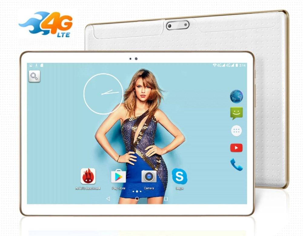"""bilder für 2016 neueste Dhl-freies 10 zoll Tablet PC 4G LTE Octa-core 4 GB RAM 64 GB ROM Android 5.1 IPS GPS 5.0MP WCDMA 3G Tablet 10,1 """"+ geschenke"""