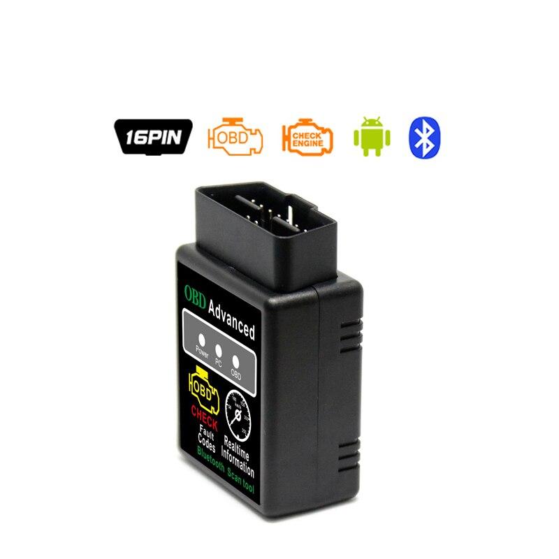 Pic18f25k80 ELM327 V1.5 Wi-Fi Bluetooth Obd2 OBD 2 1.5 диагностики авто код сканер как EasyDiag диагностики авто сканер ELM 327 - Цвет: bluetooth black