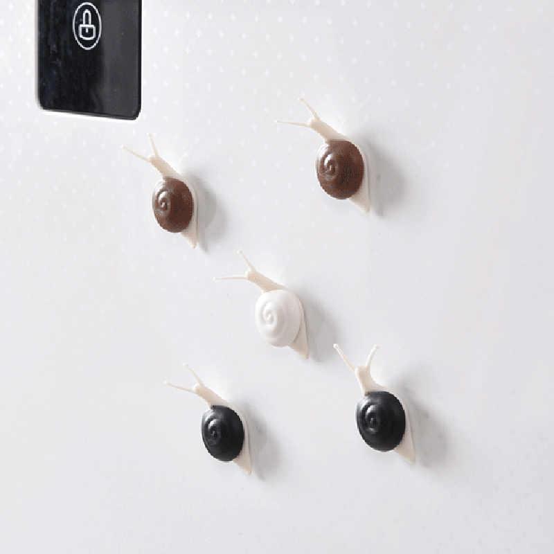 Snails 3D Refrigerator Fridge Magnets Sticker Cute Portable Home Kitchen  Decoration TSH Shop