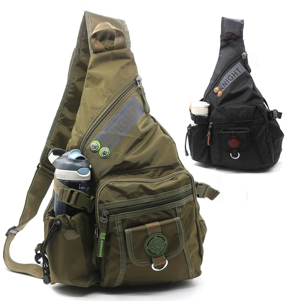 High Quality Single Rucksack Cross Body Daypack Backpack Travel Knapsack Fashion Water Bottle/Kettle Bag Shoulder Chest Bags