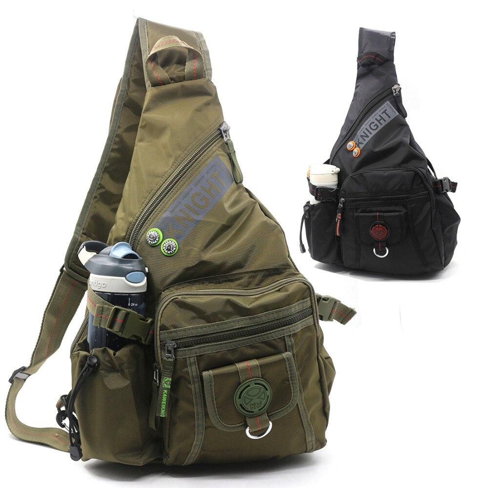 Garrafa de Água Alta Qualidade Única Mochila Cross Corpo Daypack Viagem Moda – Chaleira Bolsa Ombro Bolsas Peito