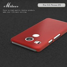 Mokoemi Mikoor Frosted Matte Plastic Hard 5.2For Case For LG Nexus 5X Cell  Phone 63378620c168