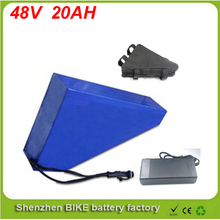 Free battery bag ebike lithium battery 48v 20ah lithium ion bicycle 48v electric scooter battery for kit electric bike 1000w