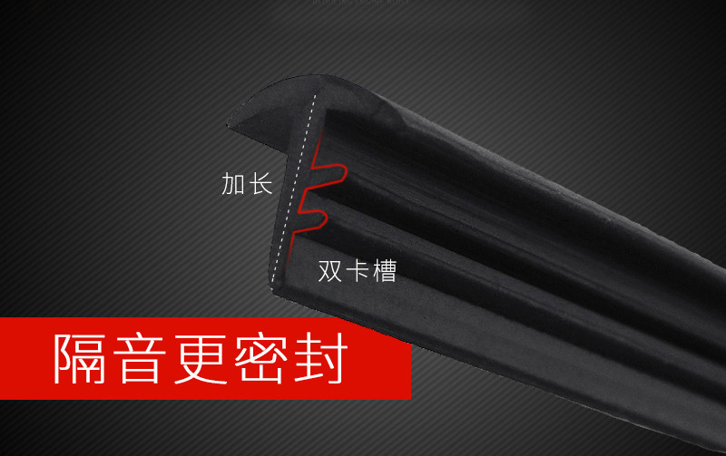 Image 2 - 1pc for SUZUKI Vitara 2016 2017 Instrument console Sealing strip Front windshield Glass sound insulation Rubber strip Gap plug-in Chromium Styling from Automobiles & Motorcycles