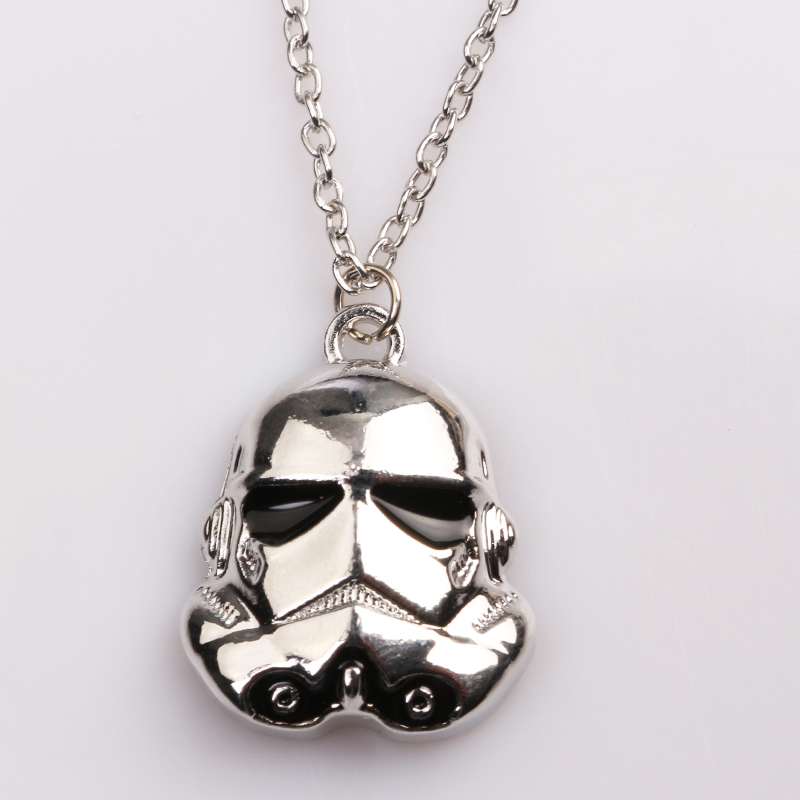 rongji jewelry hot sell star wars darth necklace pendent