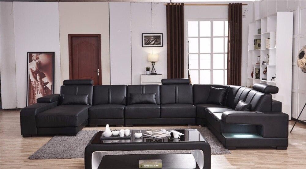 Beanbag Chaise Specail Offer Sectional Sofa Design U Shape 7 Seater