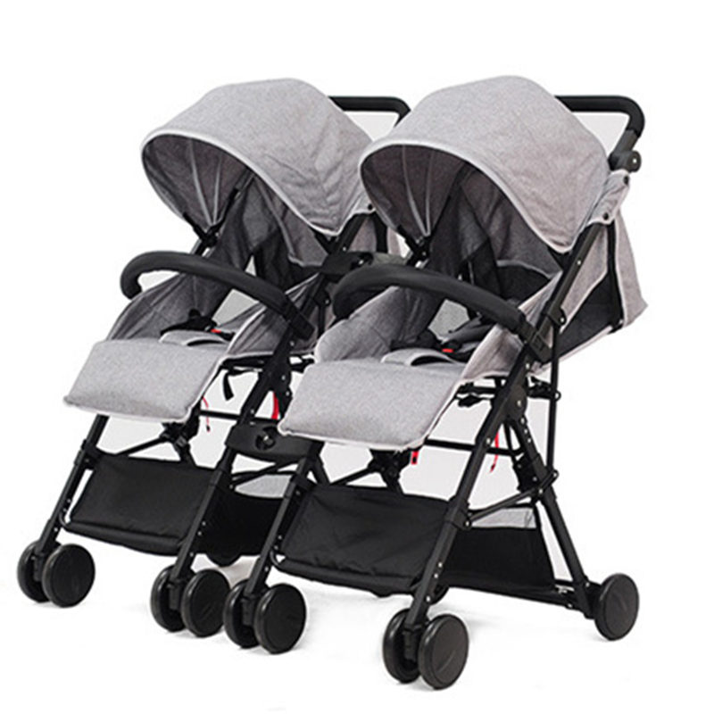 high landscape twins baby stroller folding ultra light double baby carriage travel system baby pushchairs kinderwagen carrinho High Landscape Twins Baby Stroller Folding Ultra-light Double Baby Carriage Travel System Baby Pushchairs Kinderwagen carrinho
