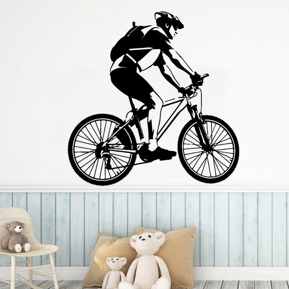 DIY Art bike life Wall Decal Sticker Murals Living Room Removable Kids Creative Decoration