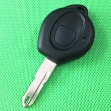 1 шт./лот Замена Ввода Ключа Keyless Удаленного Брелок Чехол 1 Кнопка Для Peugeot 206