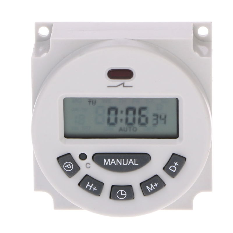 DC 12V Digital LCD Programmable Timer Relay Time of Weekly Electronic Programmable Electronic Timer Switch W315