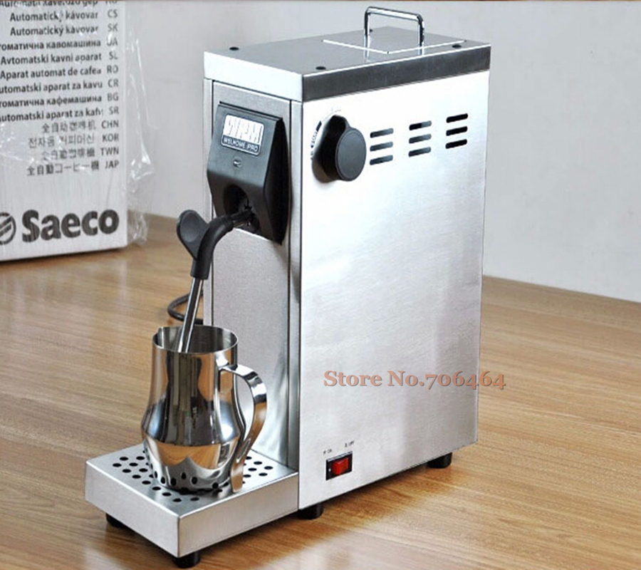 Commercial Portable Fully Automatic Milk Steamer Coffee