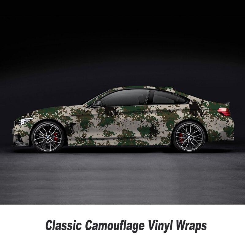 Grün Digital camo vinyl wrap Film Mit Air Kostenloser Fahrzeug Grafiken Aufkleber camouflage Film Größe: 1,52*5/10/15/20/25/30 Meter