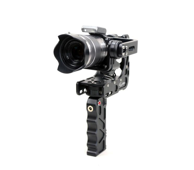 Free Shipping Nebula 4000 Lite Handheld 3-Axis Brushless Gimbal Camera Stablizer for EX GH4 A7S NEX Gopro BMPC iPhone Compatible