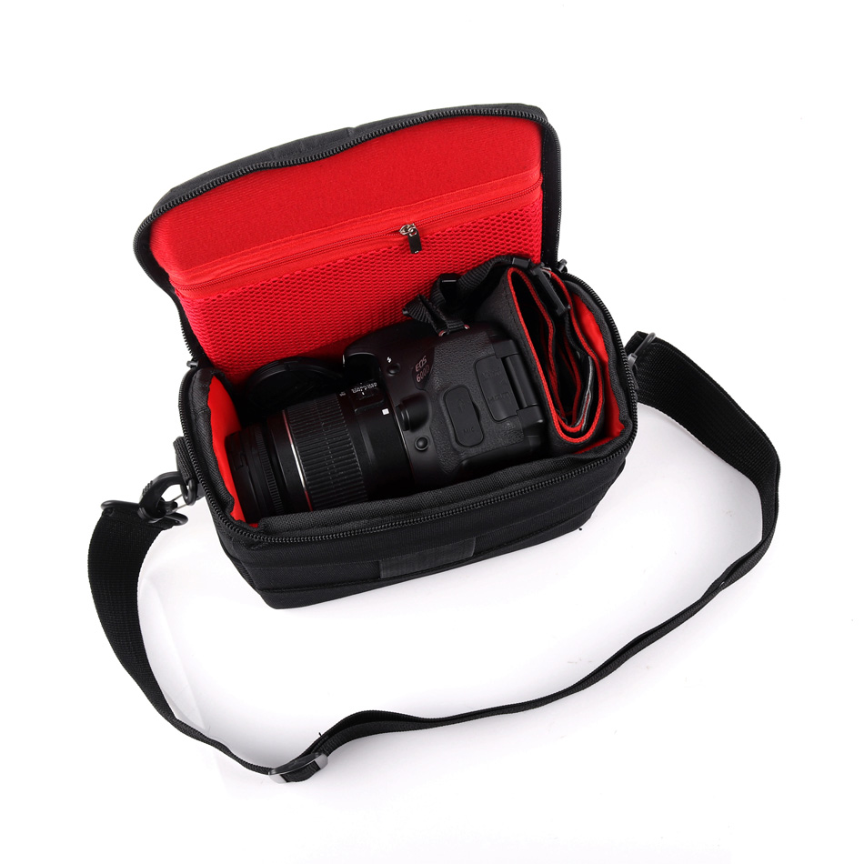 Camera Case Shoulder Bag For Samsung NX3300 NX3000 NX2000 NX1100 NX1000 NX500 NX300 <font><b>Panasonic</b></font> <font><b>Lumix</b></font> <font><b>LX100</b></font> LX15 LX10 LZ40 LZ30 image