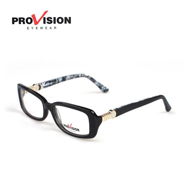 Small Square Sheet Eye Glasses Frame Women Men Black Brand Designer ...