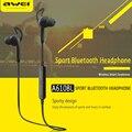 A610bl awei fones de ouvido sem fio bluetooth esportes fone de ouvido estéreo música headset handsfree com microfone para iphone samsung