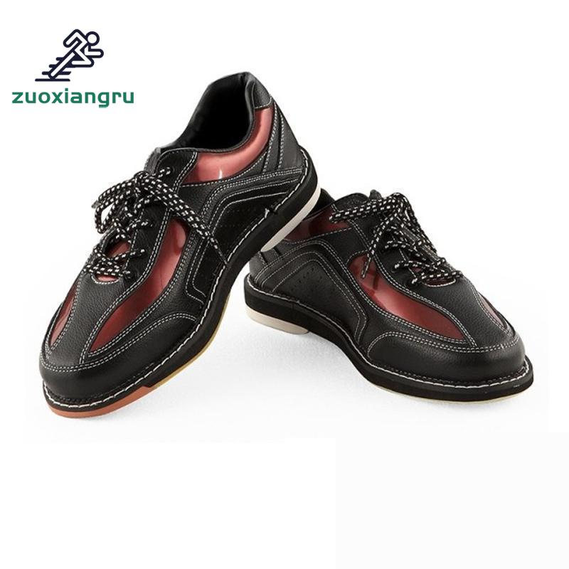 High Quality New Unisex Bowling Shoes With Skidproof Sole Professional Sport Shoes For Men Women Breathable Sneakers leather women bowling shoes with skidproof sole