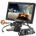 Brand New Reversing Camera+Monitor HD 800 x 480 7 Inch LCD Screen Car Rear View Monitor+HDMI + 7 IR Lights Car Rear View Camera