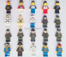 Military Pilots Army land force darth vader city Police astronaut skeleton pirate navy minifigure Building Block weapon minifigs