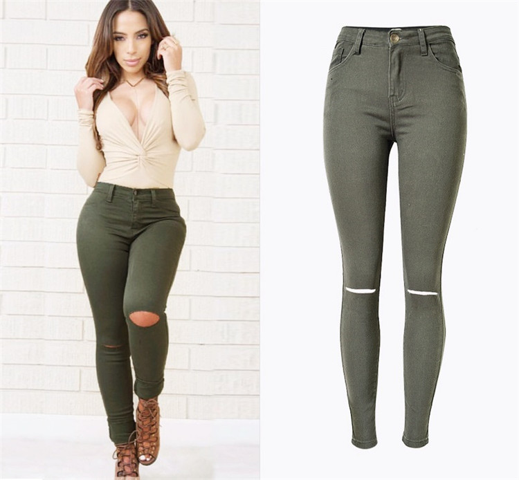 das Skinny taille Moly 6