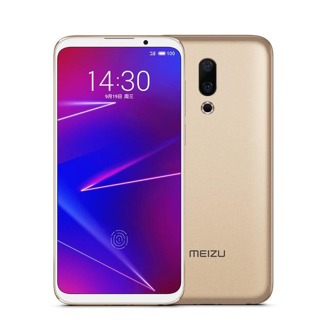 "Original Meizu 16 16X Global 64GB ROM Mobile Phone Snapdragon 710 Octa Core 6.0"" 2160x1080P Full Screen Dual Rear Camera 3"