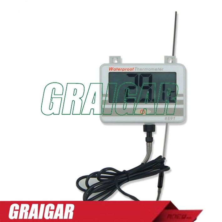 Thermomètre étanche avec sonde longue AZ8891 testeur de température de l'eau de la chaudière AZ-8891
