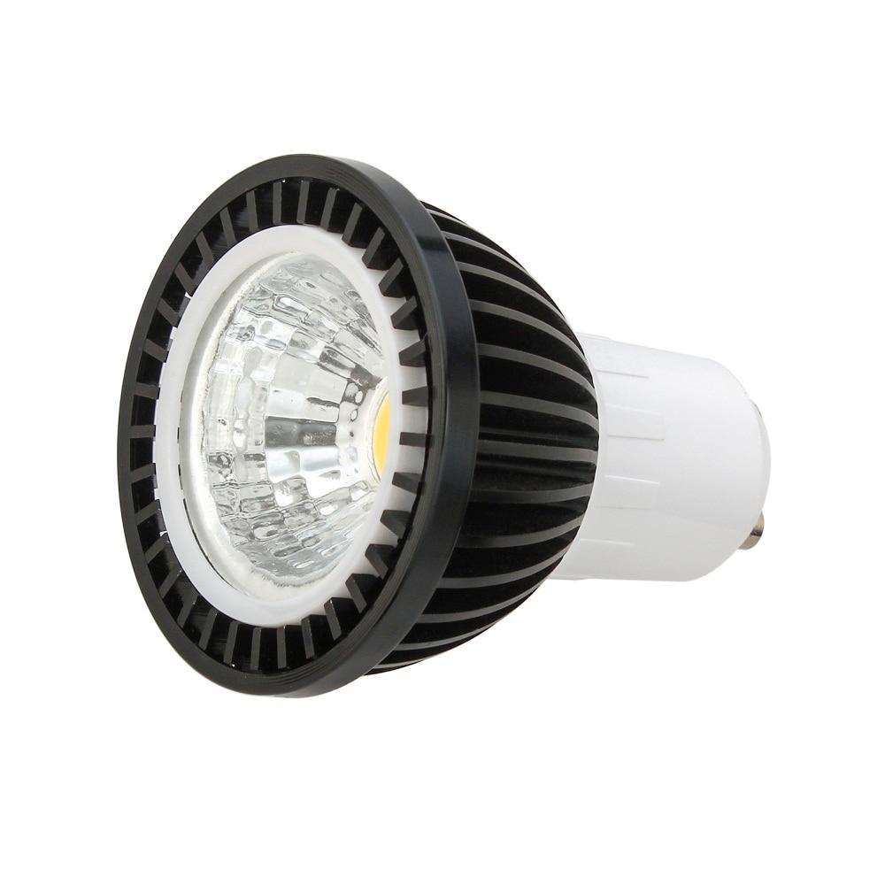 COB E27 E14 GU10 5W/7W/9W dimmable LED Bulb SpotLight AC85-265V Cool White / Warm White COB Lighting