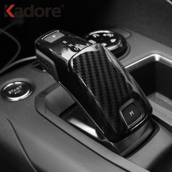 For Peugeot 3008 GT 2017 2018 Car Gear Head Shift Cover Trim Stickers Gear Box Frame Auto Interior Accessories