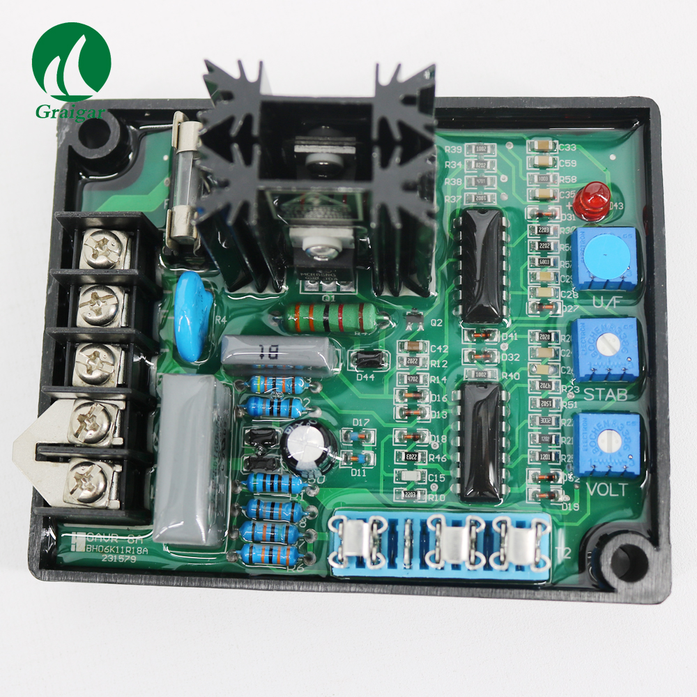 AVR 8A AVR-8A Automatic Voltage Regulator GAVR-8A 110/220/400 VAC Programmable Input стоимость