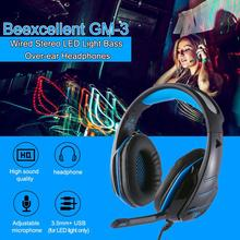 DSstyles Headset Gamer Wired Headphones All-Platform Gaming Headset for PC PlayStation 4 Xbox One Nintend Switch with Mic цена и фото