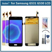 a6775d09ba3 Para Samsung Galaxy gran primer G531 G531F SM-G531F G531H pantalla LCD con  herramientas de