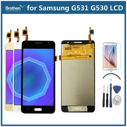 For Samsung Galaxy Grand Prime G531 G531F SM-G531F G531H LCD Display With Tools Touch Screen Digitizer Assembly 5.0'' Phone LCD