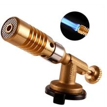 Латунный газовый фонарь для пайки припоя сопла прочная сварочная нагревательная горелка для цилиндров