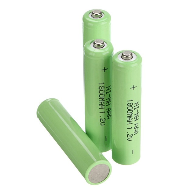 12PCS  Ni-MH 1.2V AAA Rechargeable1800mAh 3A Neutral Battery Rechargeable  battery ,Free shipping