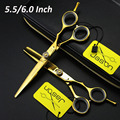 Professional hairdresser's scissors Hairdressing Scissors Barber Scissors Set Hairdresser Tool Salon Equipment Kit 5.5inch 6inch