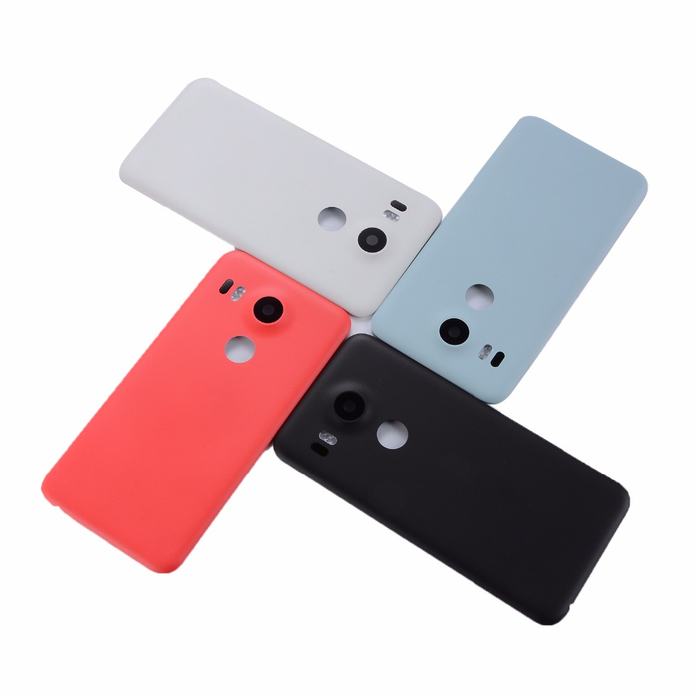 Original For LG Nexus 5X Back Battery Cover Rear Door Housing Case For LG Google Nexus 5X Battery Cover
