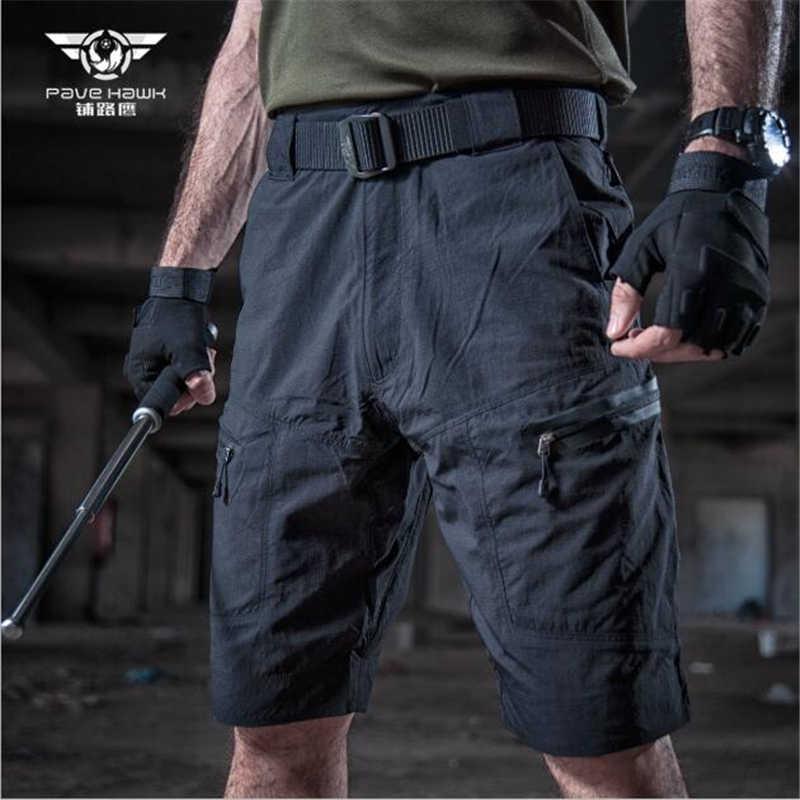 アウトドアスポーツハイキング戦術的なショートパンツ男性の夏の軍事ショーツクライミング用、マルチポケット、アンチスクラッチ