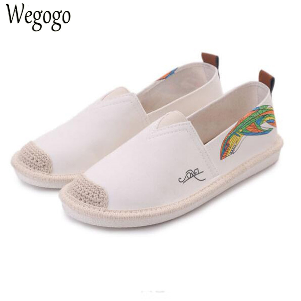 Vintage Women Linen Shoes Fashion Floral Print Canvas Flats Ladies Ballet Flat Casual Breathable Slip On Shoes Zapatos Mujer 5pcs woodworking 3 flute shank 6mm cnc router bits mill spiral cutter tungsten carbide density board carving tools cel 22mm
