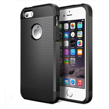 Soft Back Cover Silicone Heat Dissipation case For iphone 5 5S Neo Hybrid Shockproof Dual Layer armor apple iphone5