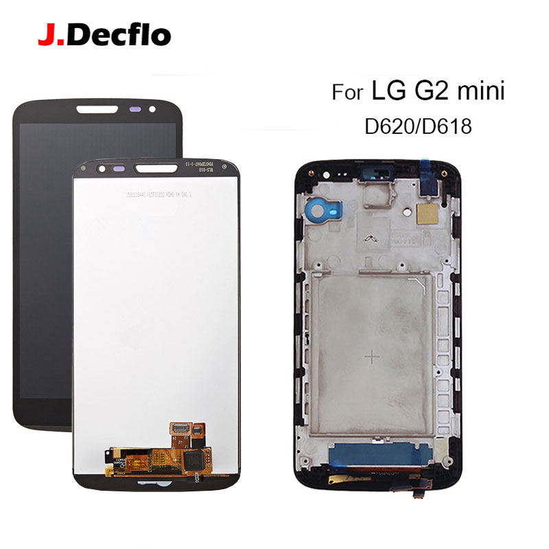 100% tested LCD For LG G2 Mini D620 D618 LCD Display touch Screen Digitizer Assembly Replacement Parts With/Without Frame100% tested LCD For LG G2 Mini D620 D618 LCD Display touch Screen Digitizer Assembly Replacement Parts With/Without Frame