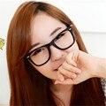 2016 Nova 9 Cores Moda Unissex Das Mulheres Dos Homens Armações de Óculos de Lente Clara Óculos De Armação Quadrada