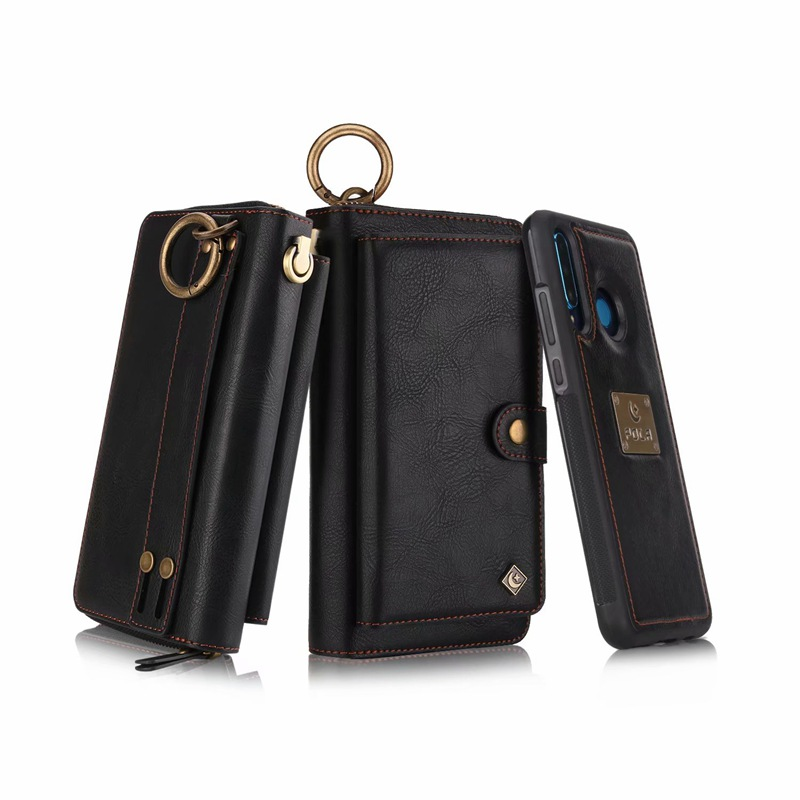 Image 4 - Purse Wristlet Phone Case For coque huawei p30 pro lite nova4e Funda Etui Luxury Leather Protective Wallet Phone Shell Cover bagWallet Cases   -