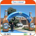 Free Shipping Whole Digital Printing Promotional Custom Inflatable Arch, Inflatable Bottle Arches, Inflatable Advertising Bottle