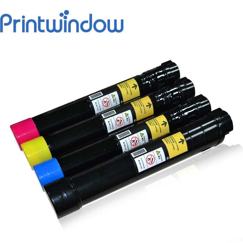 Printwindow Compatible Toner Cartridge Xerox Phaser 7800dn/7800dx/7800gx 4X/Set parts for xerox phaser 7800 7800n 7800dx 7800dn 7800gx upper fuser roller for xerox 7800 7800dn fuser roller parts heater roller