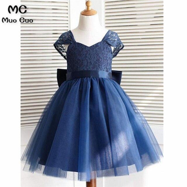 e879c11ee2d0 Elegant 2018 Ball Gown first communion dresses for girls Short ...