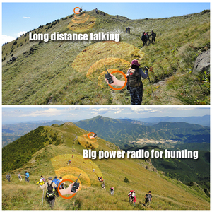 Image 3 - Baofeng UV 5S walkie talkie wasserdicht dual band UV5S two way radio 136 174MHz, 400 520MHz 10 km radio für jagd