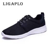 Wholesale Men Shoes Men Casual Shoes Summer Breathable Lace Up Flats Fashion Light Male Footwear Big