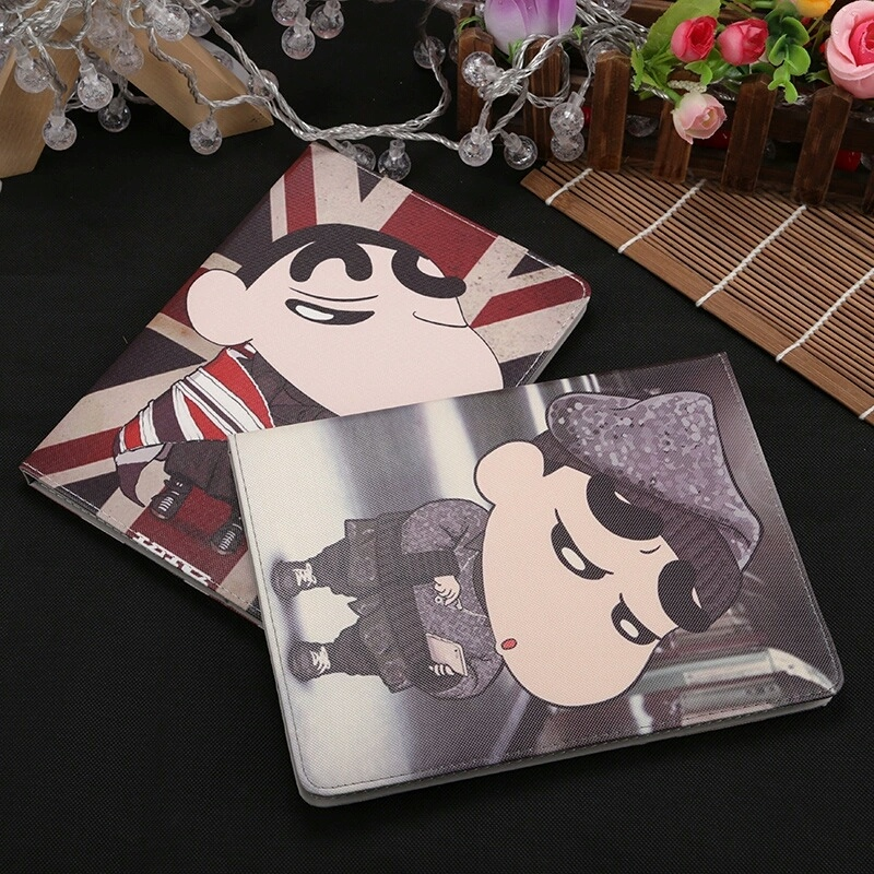 Luxury Pu Leather Comic style Case For iPad 2 3 4 Air mini 1 2 3 Tablet Case Stander Cover for New iPad 9 7 Auto Wake Up Sleep in Tablets e Books Case from Computer Office
